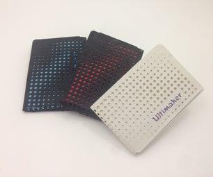 3D Printable Men's Wallet and Women's Clutch