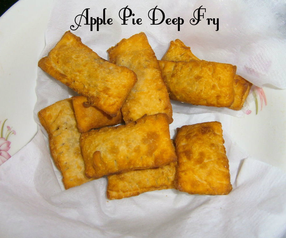 Apple Pie ~ Deep Fry