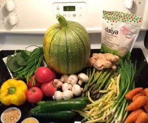 Pumpkin Halloween Vegetable Soup