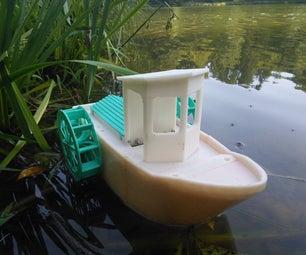 BT Paddle Boat