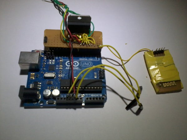 DIY Arduino Motor and Wireless Shield