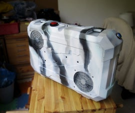 Portable Gaming PC in a Suitcase