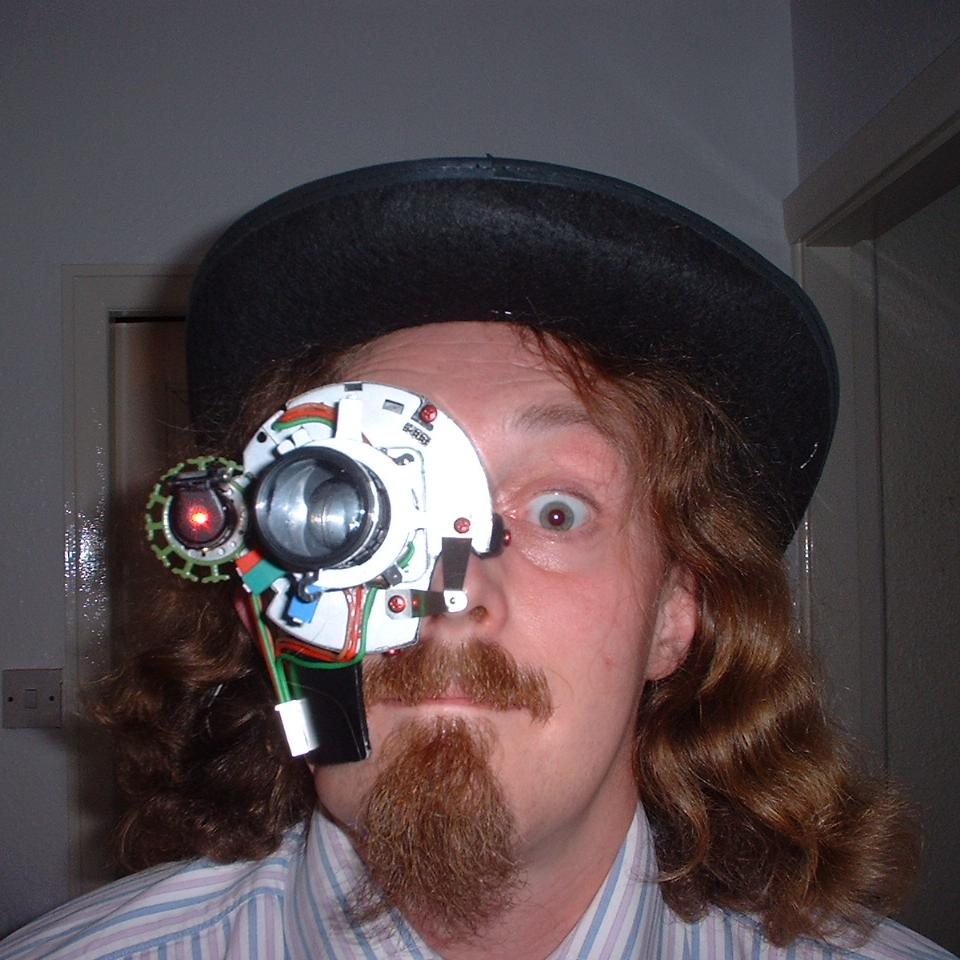 Laser Monocle Headpiece