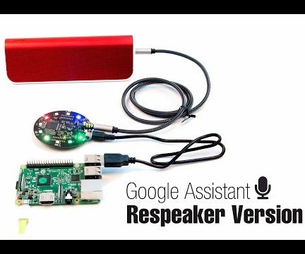 Build Google Assistant on Raspberry Pi With ReSpeaker Mic Array