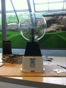3d Scanning the Plasma Ball
