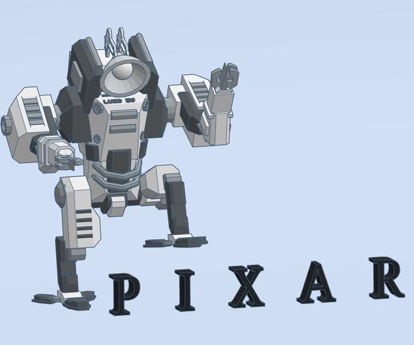 Pixar Lamp Mech (Mashup)