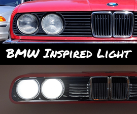 BMW Inspired Light Fixture