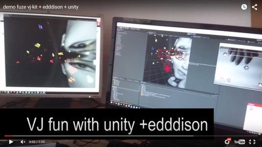 VJing in Unity + Edddison