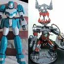 Ork Warhammer 40k Gundam Conversion
