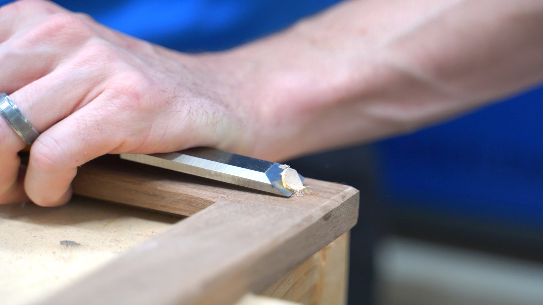 Trim the Dowels to Size