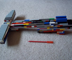 The C3.3 Lethal Armor-Piercing Lego Crossbow