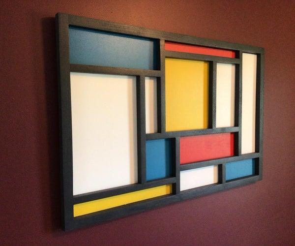 Mondrian Shadow Box