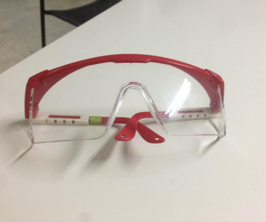 Como desinfectar lentes de seguridad