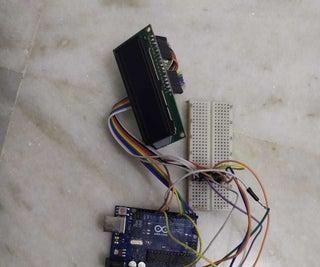 Distance Sensor (for White Cane)