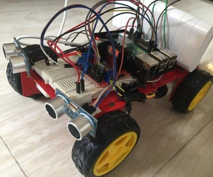 Obstacle Avoidance Car Using Raspberry Pi