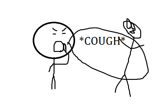 The Powerful Cough Prank
