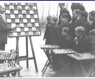 Poorman's Chess Training Board.