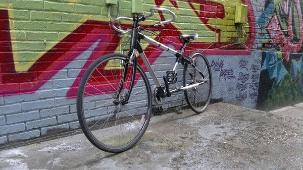 Custom 3D Printed Carbon Fiber Bike Frame