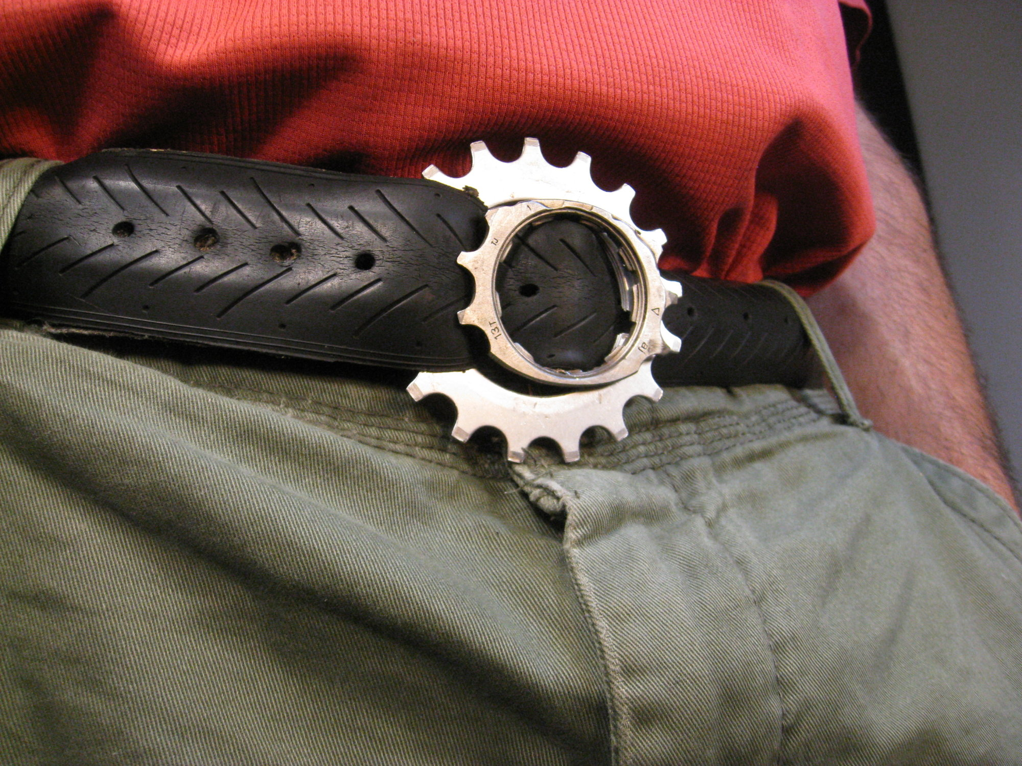 Bike Tire and Gear Belt