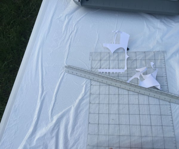 Easily Remove Paper From Silhouette Mat