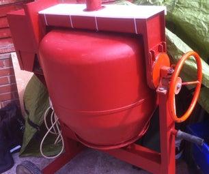 Belle Maxi 140 Concrete Mixer Overhaul