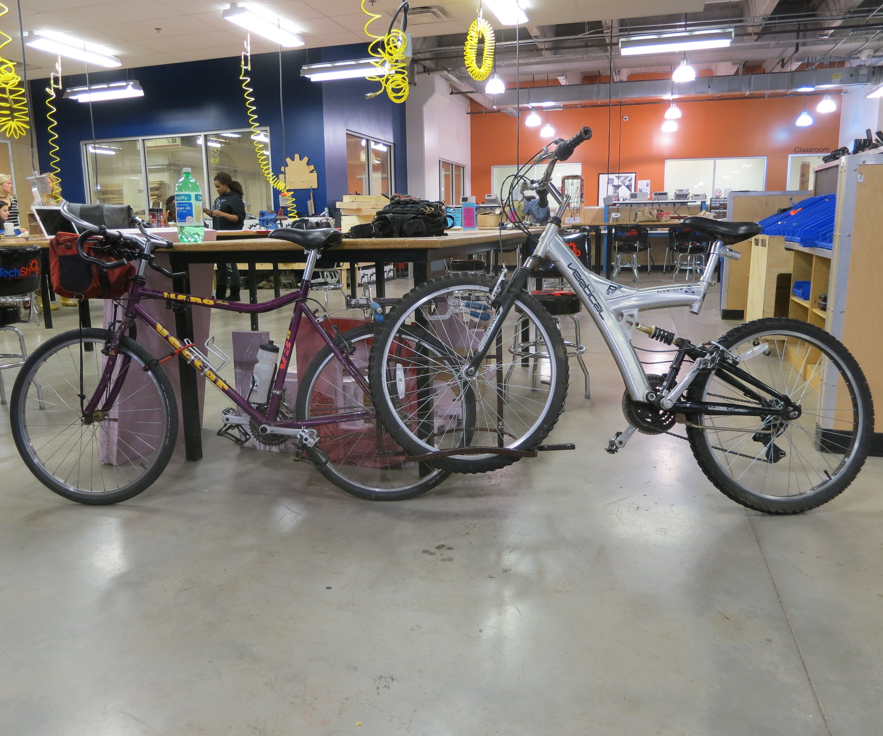Bicycle Tow Rack - I Made It at TechShop!
