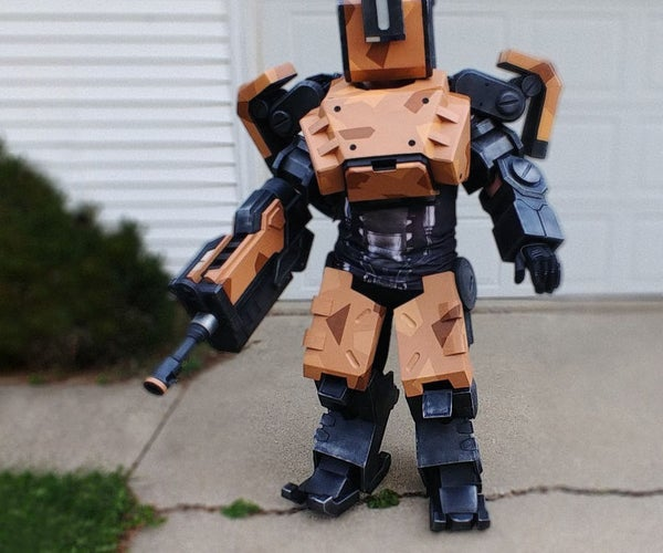 Robot Costume - Bastion From Overwatch