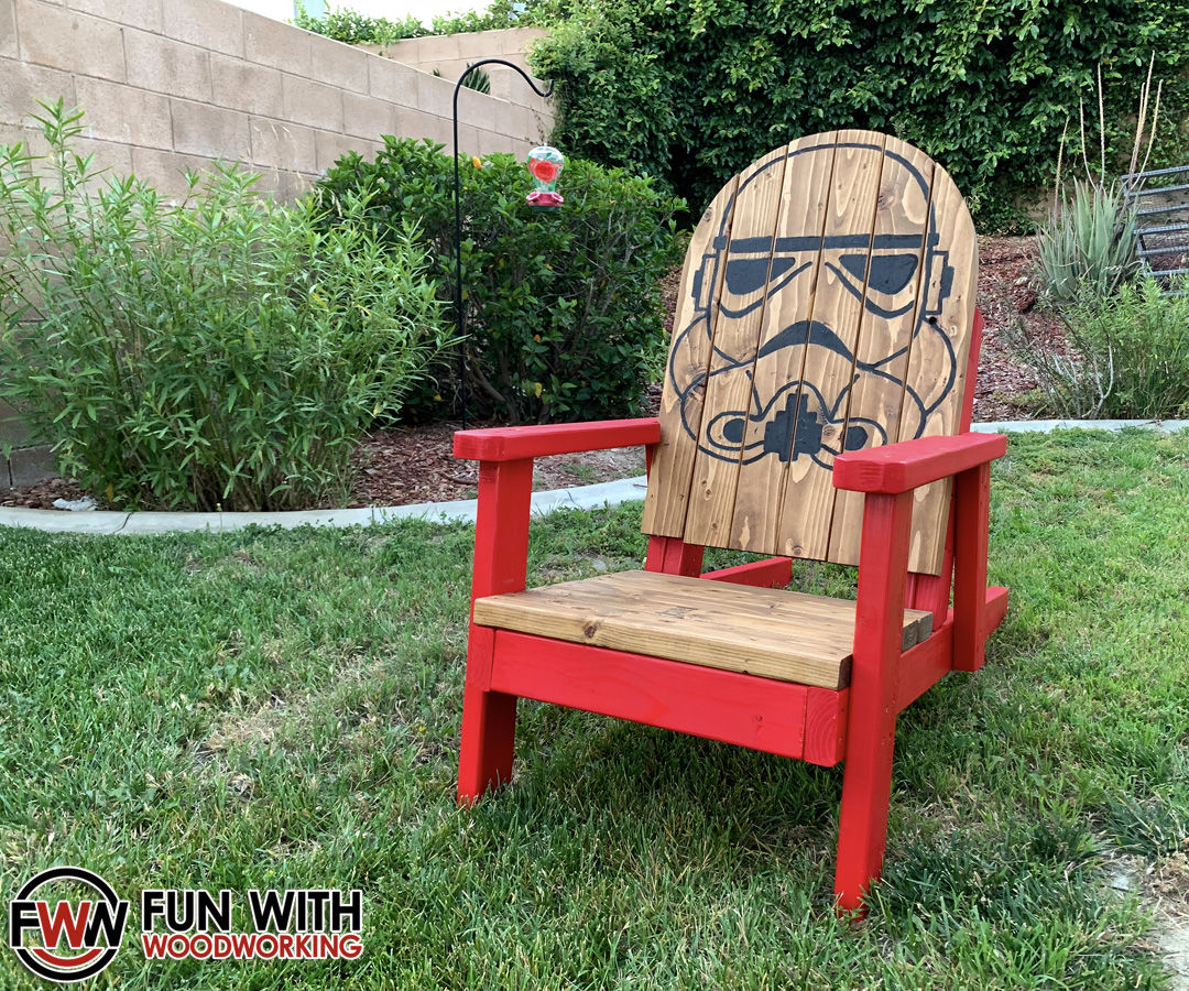 Stormtrooper Adirondack Chair