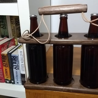 An Unconventional Beer Caddy