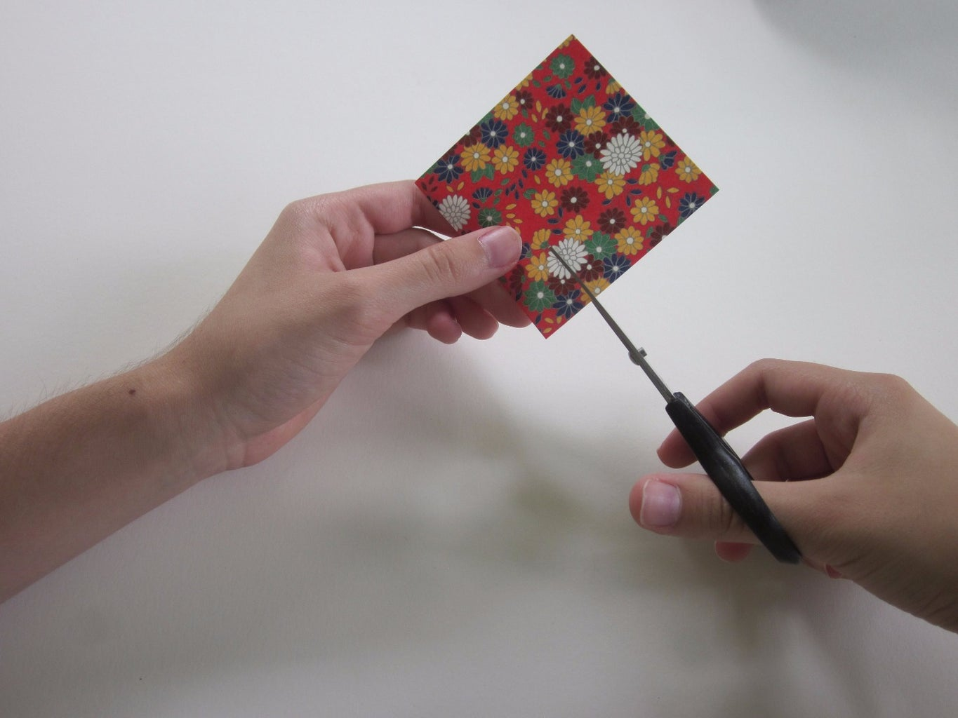 Cutting the Paper to Fit Your Nail