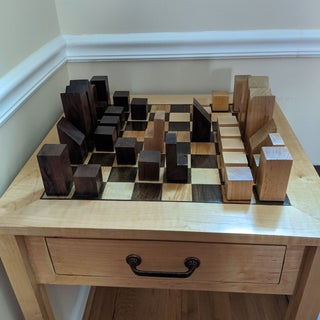 Mid Century Modern Chess Pieces 6 Steps With Pictures Instructables