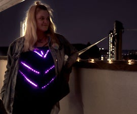 Led Shirt With Mode Changer (Arduino, Neopixels, FastLED)