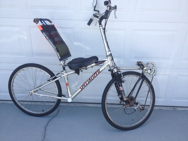 DIY Recumbent Bicycle Made From Recycled Parts