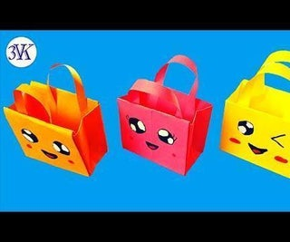 How to Make Paper Bags With Handles?