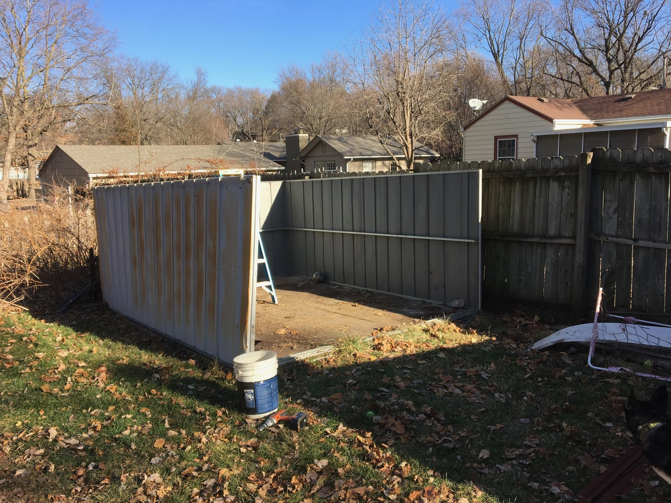 Step 1: Take the Old Shed Apart
