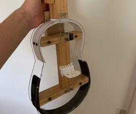 Clear Homemade Violin