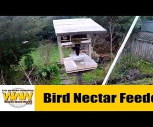 Bird Nectar Feeder