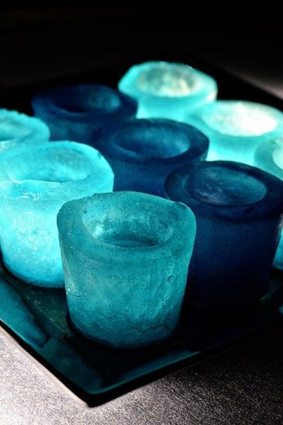 DIY Shot Glasses Made of Ice