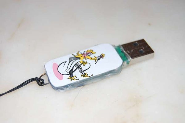 Make a Playing Card-themed USB Drive