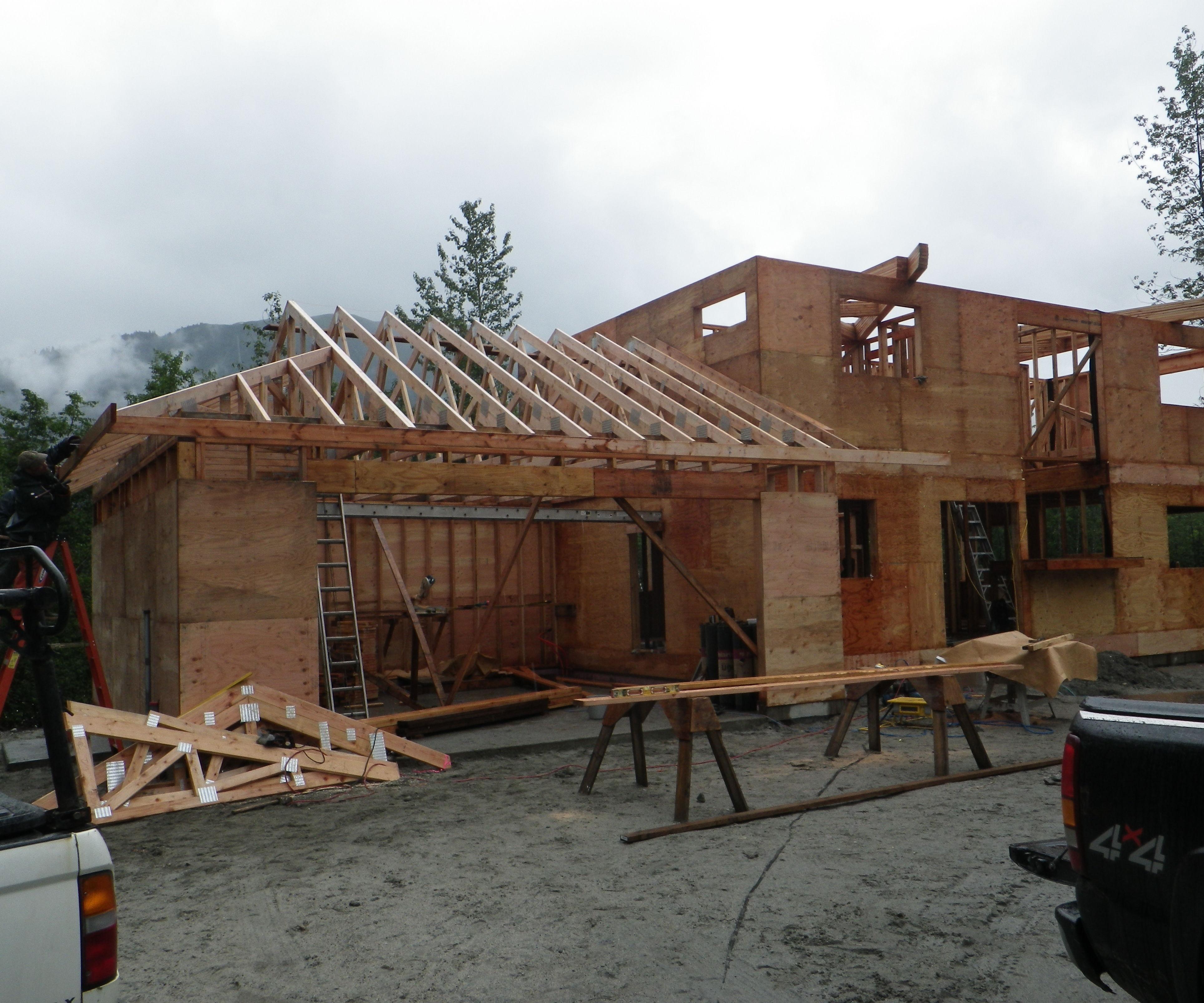 Building a House.