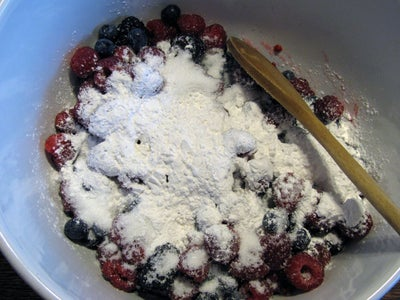 The Triple Berry Filling