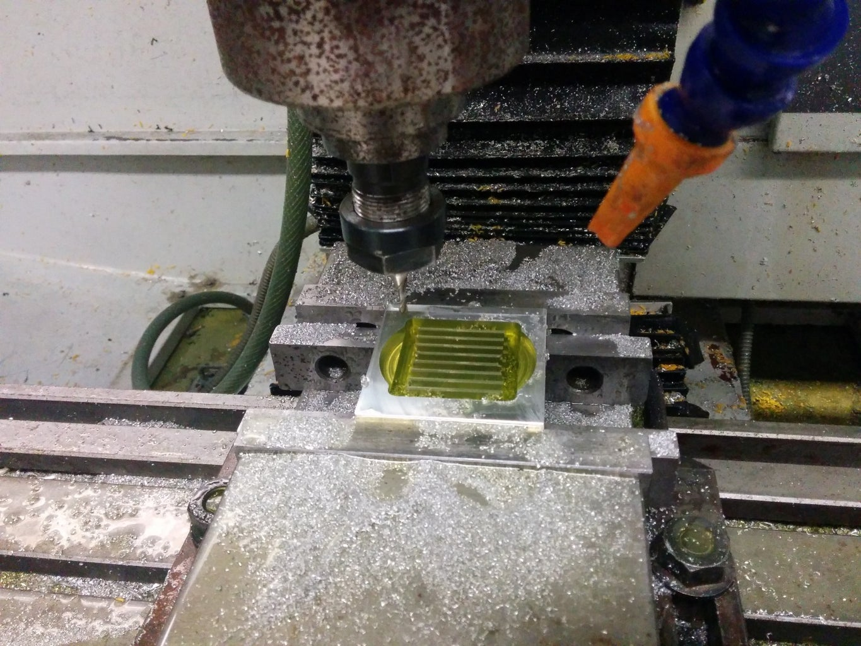 CNC Milling the Main Block