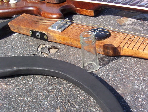 3 String Slide Guitar