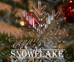 Laser Cut Snowflake