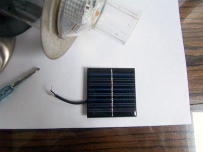 Removing Solar Panel From Garden Light