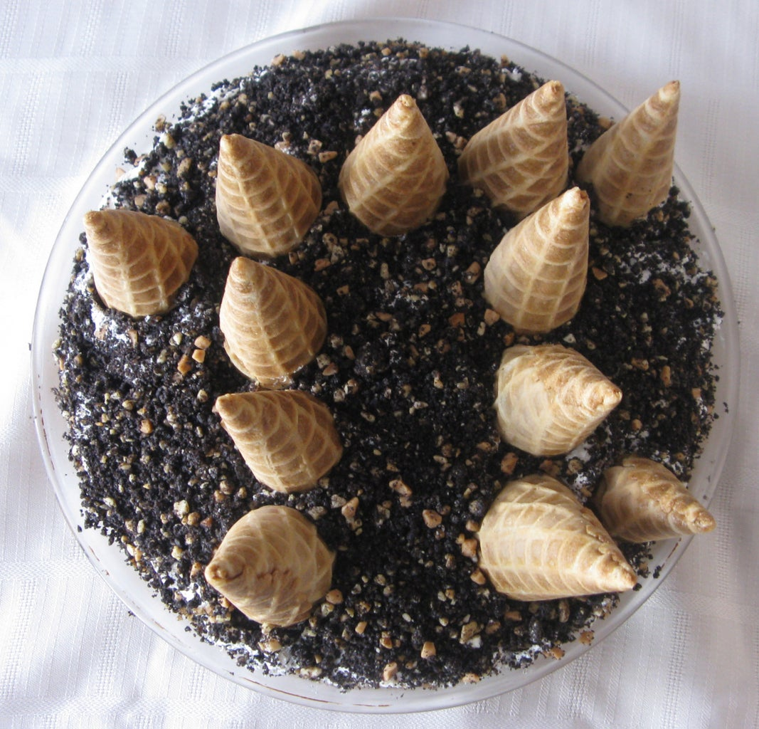 Drumstick Pie With Waffle Cone Crust