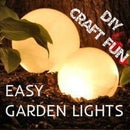 EASY GARDEN LIGHTS [<10$] [< 5 Min. To Make]
