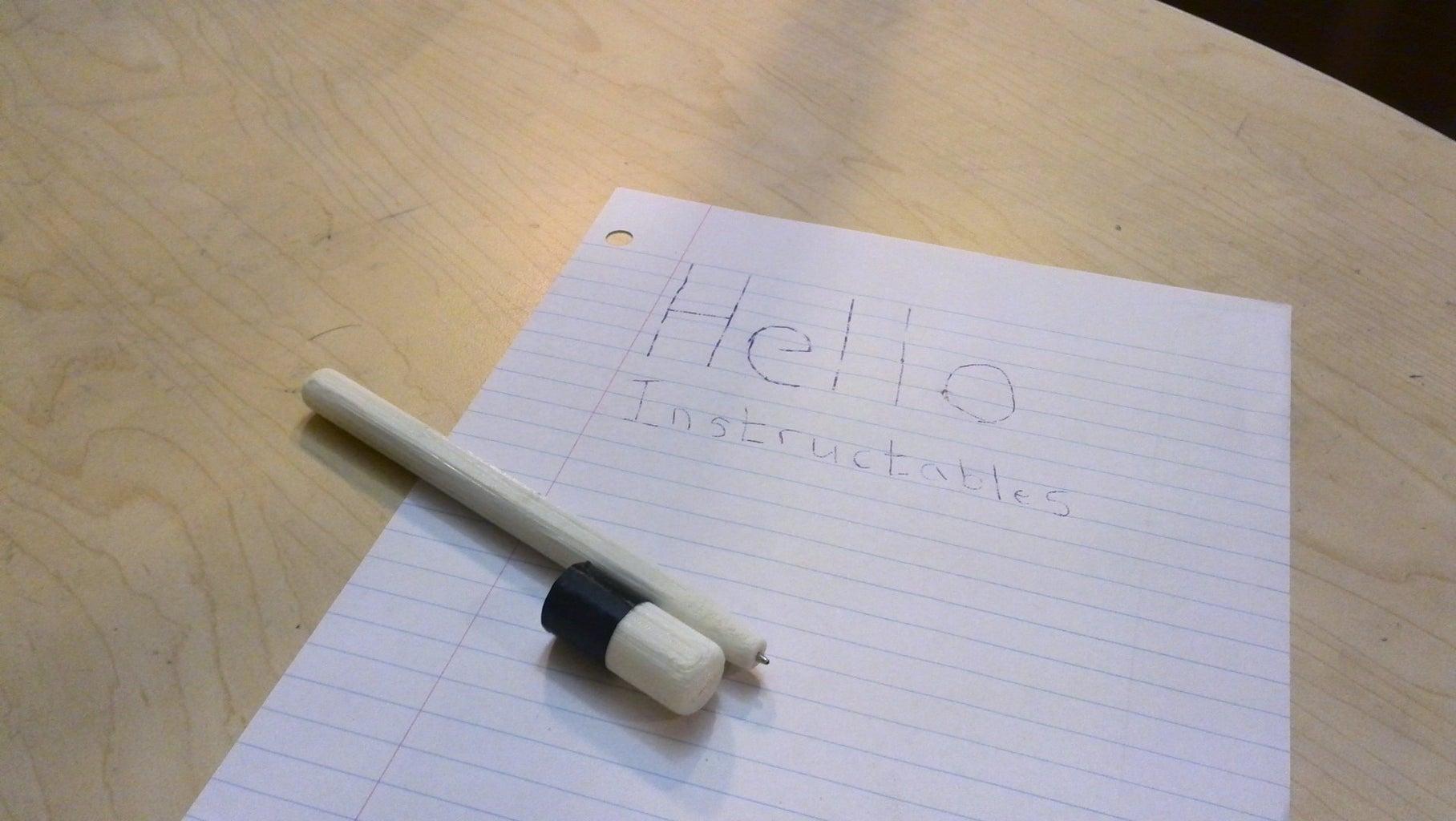Assemble the Pen