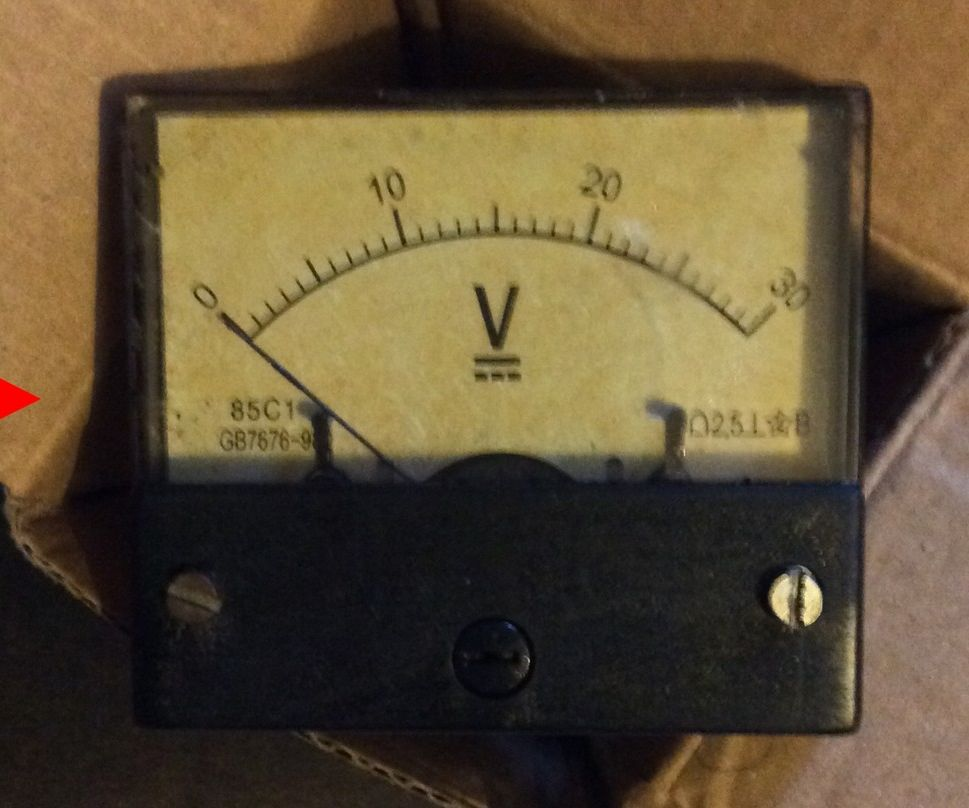 Brand new to Vintage needle voltmeter
