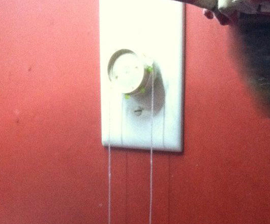 PULL CORD ON DIMMER SWITCH